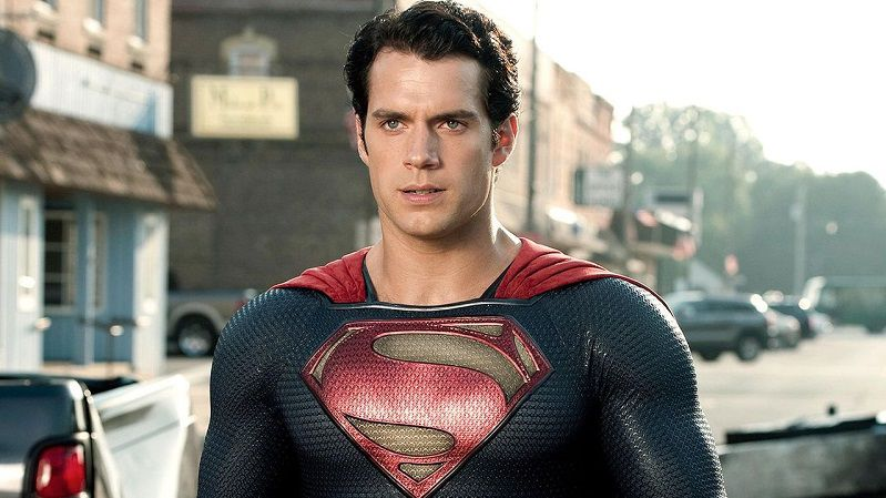 Генри Кавилл в роли Супермена