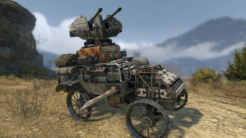 Crossout gotovit podarki v chest' Hjellouina