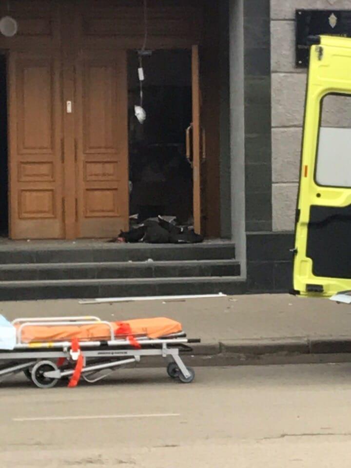 В Архангельске в здании ФСБ произошел взрыв