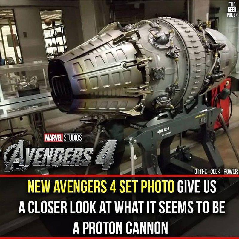 Новое оружие Железно человека