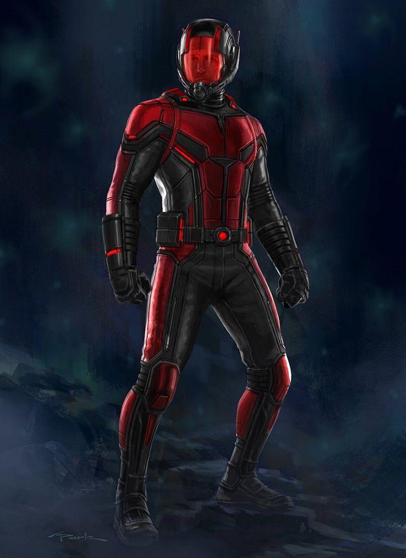 Альтернативная версия костюма Человека-муравья
