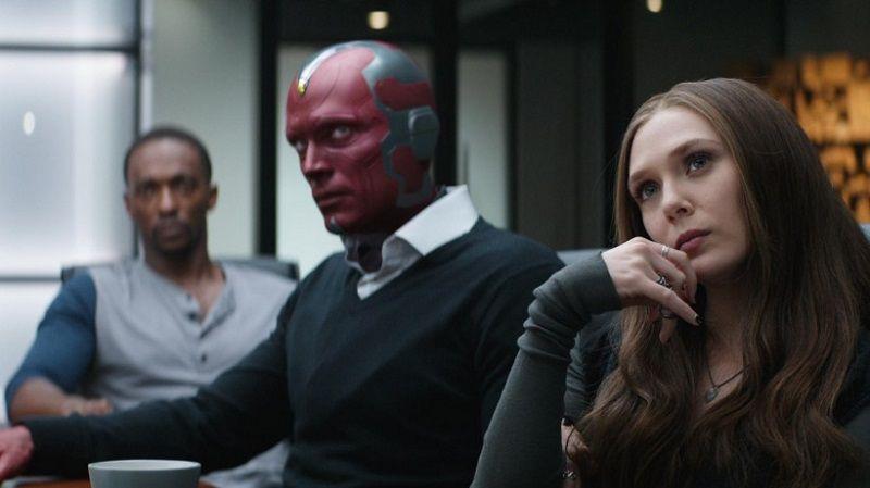 """Кадр из фильма """"Первый мститель: Противостояние"""""""