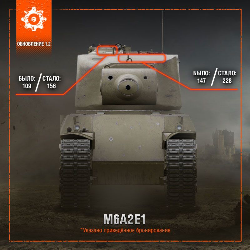 M6A2E1 в обновлении 1.2