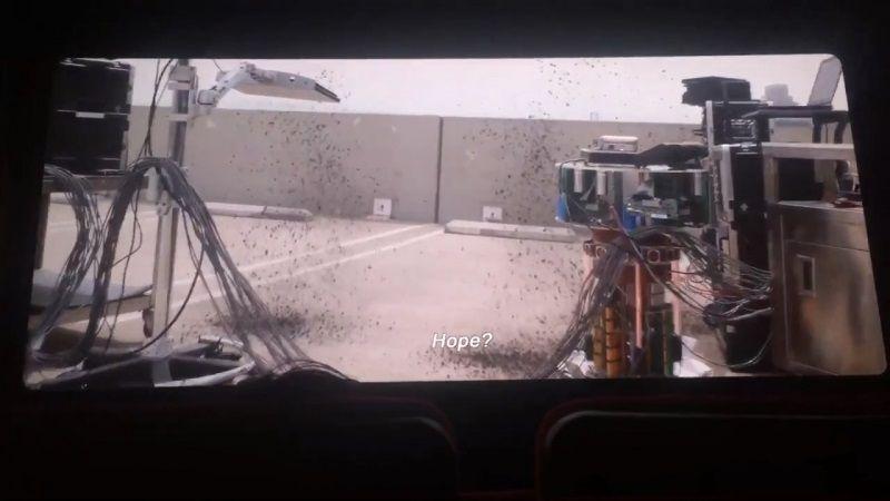 """Кадр из сцены после титров фильма """"Человек-муравей и Оса"""""""