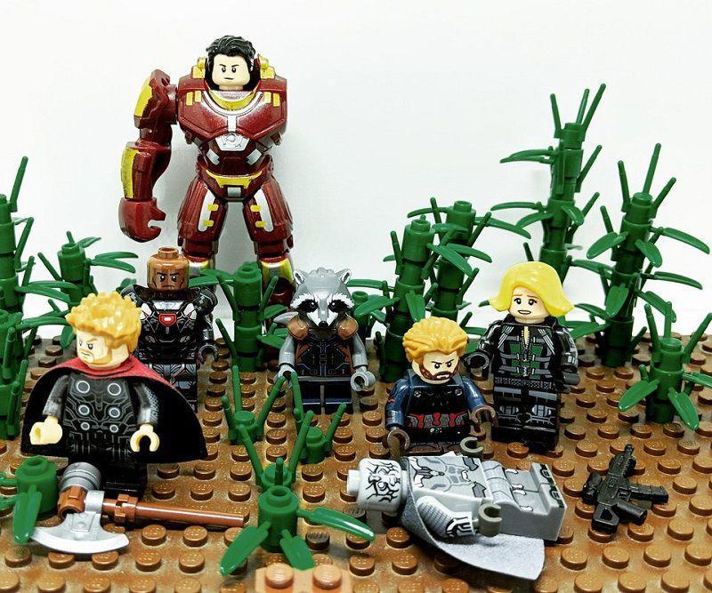 «Мстители: Война бесконечности»: фанат создает из фигурок LEGO удручающую сцену