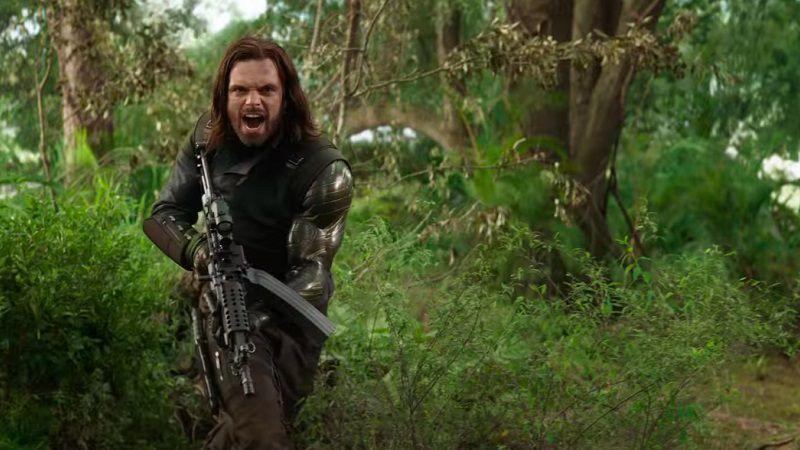 """Кадр из фильма """"Мстители: Война бесконечности"""""""""""