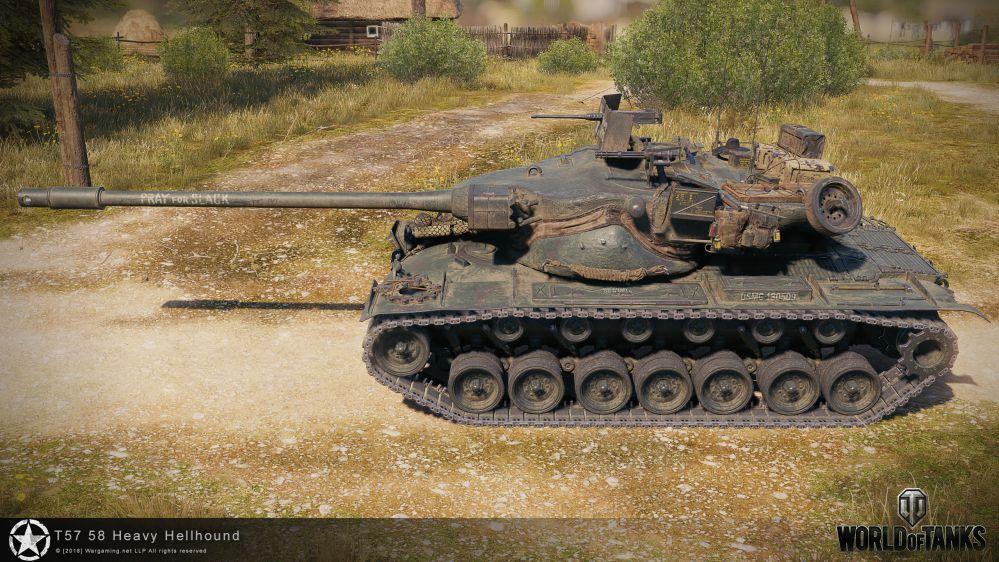 T57 Heavy Tank в3D-Стиле