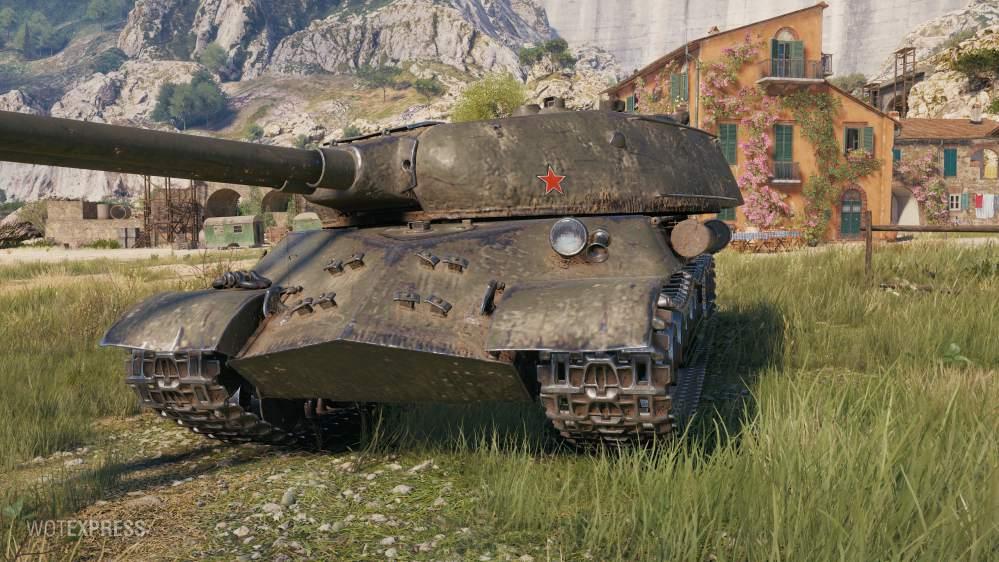 ИС-3 Вариант II (СССР, ТТ-9)
