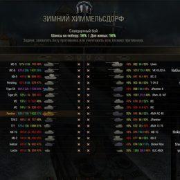 Проверить статистику в World of Tanks