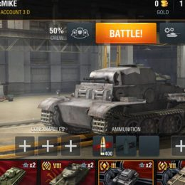Зоны пробития для World of Tanks Blitz