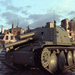 Шведские пт сау в World of Tanks
