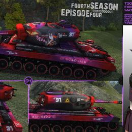Аниме шкурки для World of Tanks