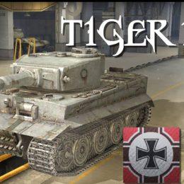 Тигр 1 в World of Tanks гайд