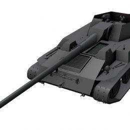 Обзор Krupp-Steyr Waffenträger премиум танк 7 уровня WoT