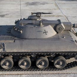 Rheinmetall Panzerwagen — немецкий лёгкий танк 10 уровня WoT