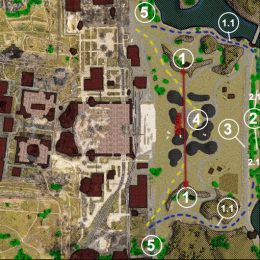 Тестирование переработанной карты «Промзоны»
