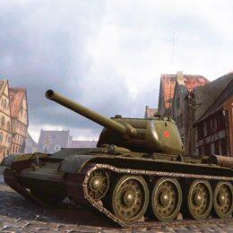 Т-44-85М — советский средний танк 8 уровня WoT