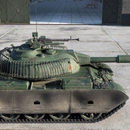 WZ-132-1 — китайский лёгкий танк 10 уровня WoT